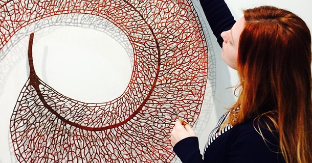 This Artist Actually Melts Her Embroidery Pieces To Make Them Even More Amazing